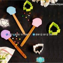 کفگیر سیلیکونی طرح کاپ کیک