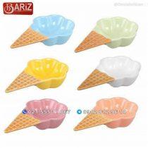 بستنی خوری سرامیکی 6 تایی ژوانی باریز